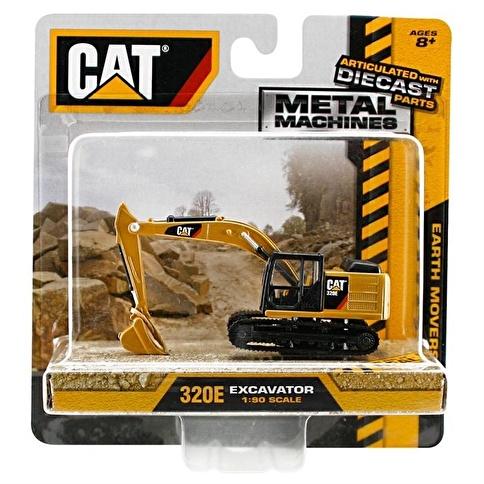 Cat Cat Metal Koleksiyon Araçları Kepçe İş Makinası Renkli